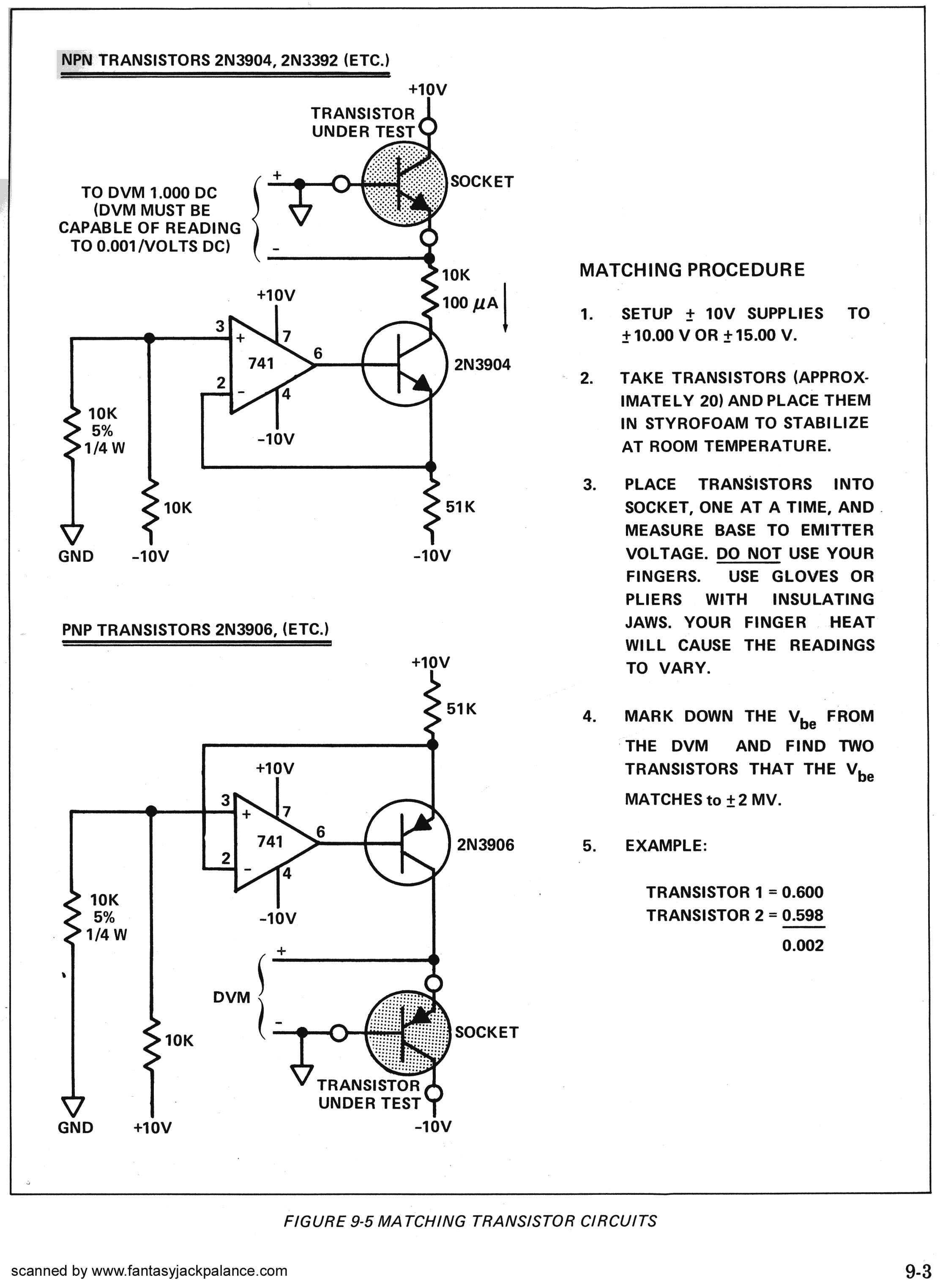 Dragonfly alley motm synthesizer moog transistor matching tester heres the schematic diagram from the mini moog manual click on the image for a larger version its set up for 10v power supply and it has a mistake in pooptronica Image collections