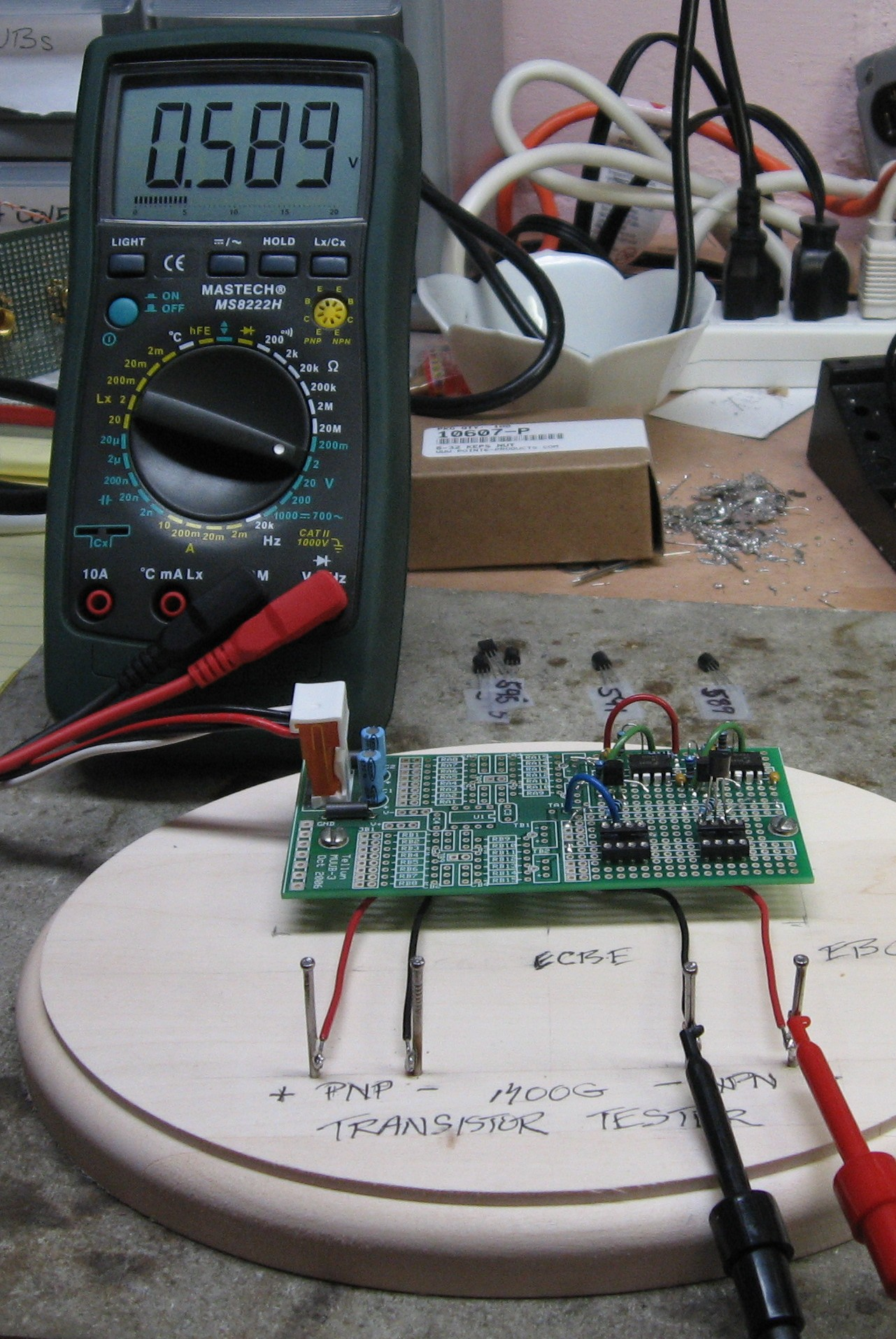 Dragonfly Alley MOTM Synthesizer - Moog Transistor Matching